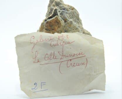 Galène cubique, La Celle-Dunoise, Creuse, Limousin.