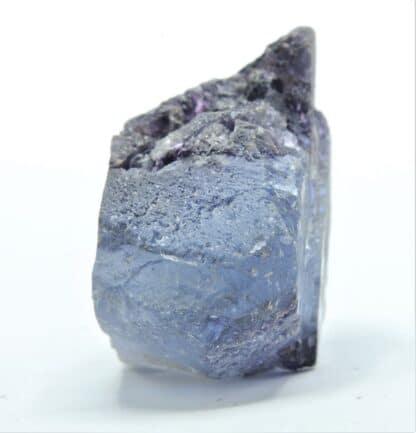 Fluorite (Fluorine) bleue et violette, carrière du Boltry, Seilles, Belgique.