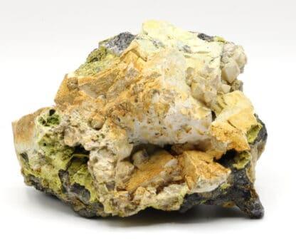 Galène, pyromorphite, hydroxylapatite etc, l'Argentolle, Morvan.