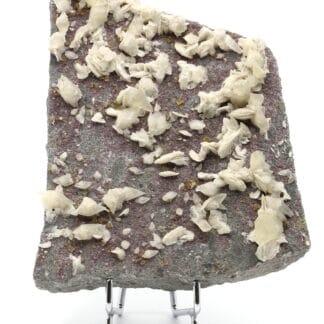 Calcite, Baryte et Fluorite, Les Farges, près d'Ussel, Corrèze.