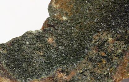 Olivénite de la mine de la Garonne au Pradet, Var.