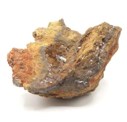 Cristal de Cérusite, mine d'Erlenbach, Lontzen, Belgique.
