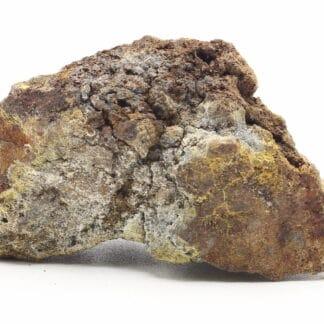 Calamine, galène et marcasite, mine de Fossey, Lontzen, Belgique.