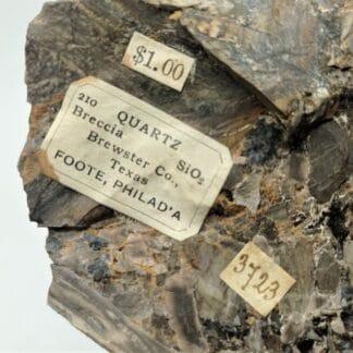 Minéraux Foote