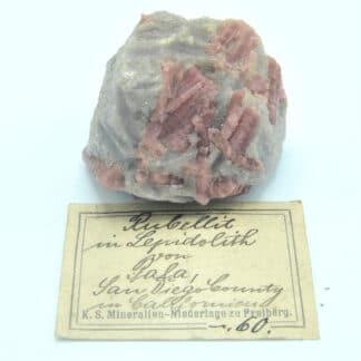 Minéraux du K. S. Mineralien – Niederlage zu Freiberg