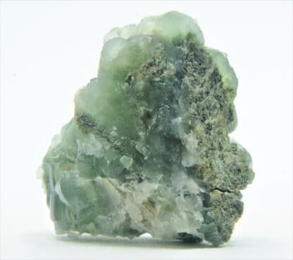 Prehnite et Ferro-Actinolite, Combe de la Selle, Oisans, Isère.