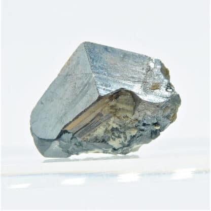 Magnifique Cassitérite gemme, mine de la Villeder, Morbihan, Bretagne.