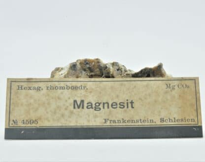 Magnésite, Frankenstein, Schlesien (Silésie), Allemagne, Pologne.