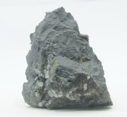 Phillipsite et Chabazite dans du Basalte, Saint-Jean-le-Centenier, Ardèche.
