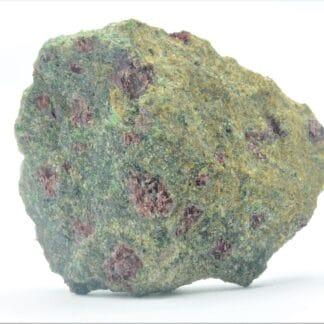 Grenat et Chromite dans une Omphacite, Tessin, Suisse.