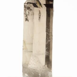 Cristal de quartz fumé, La Tourra, Les Deux Alpes, Oisans, Isère.