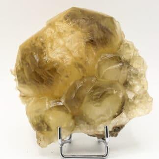 Macle de calcite, Mont-sur-Marchienne, Charleroi, Belgique.