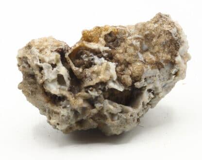 Calcédoine en périmorphose et boxwork, ex collection Museum Bally-Prior.