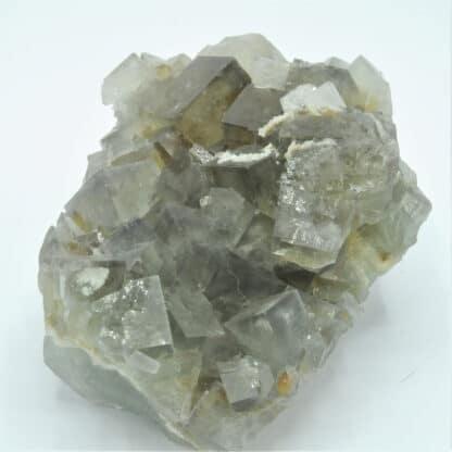 Fluorine et cristaux de barytine (Baryte), Mine de l'Avellan, Var.