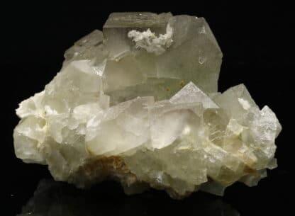 Fluorite verte, mine de l'Avellan, Var, France.