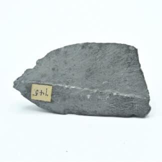 Calcaire, Allemagne, avec étiquette manuscrite ancienne.