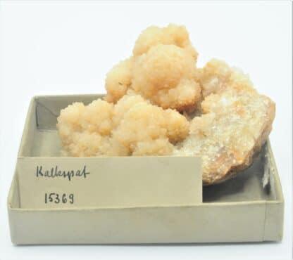 Calcite jaune, Collection du musée Bally en Suisse.