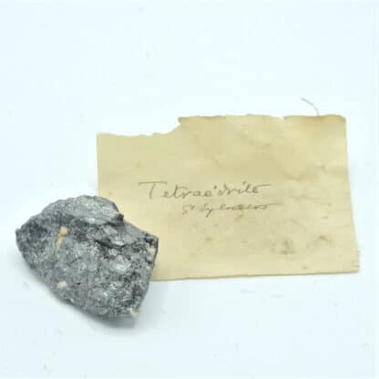 Tétraédrite, Saint-Sylvestre, Urbeis, Bas-Rhin, Alsace.