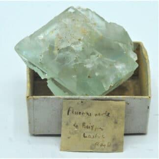 Fluorite (Fluorine), Le Beix, Saint-Germain-près-Herment , Puy-de-Dôme.