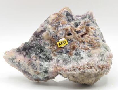 Quartz en cristaux translucides, L'Argentolle, Saône-et-Loire, Morvan.