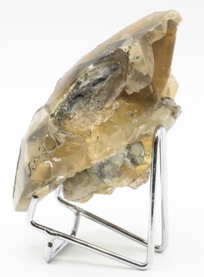 Calcite flottant, carrière de Glageon, Avesnois, Nord.