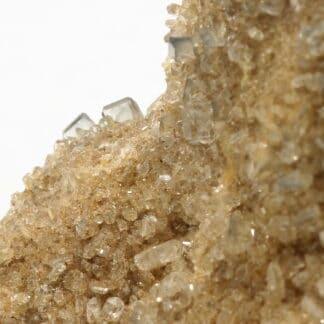 Baryte gemme, Glageon, Avesnois, Nord, Hauts-de-France.