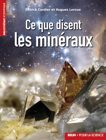 """Livre """"Ce que disent les minéraux""""."""