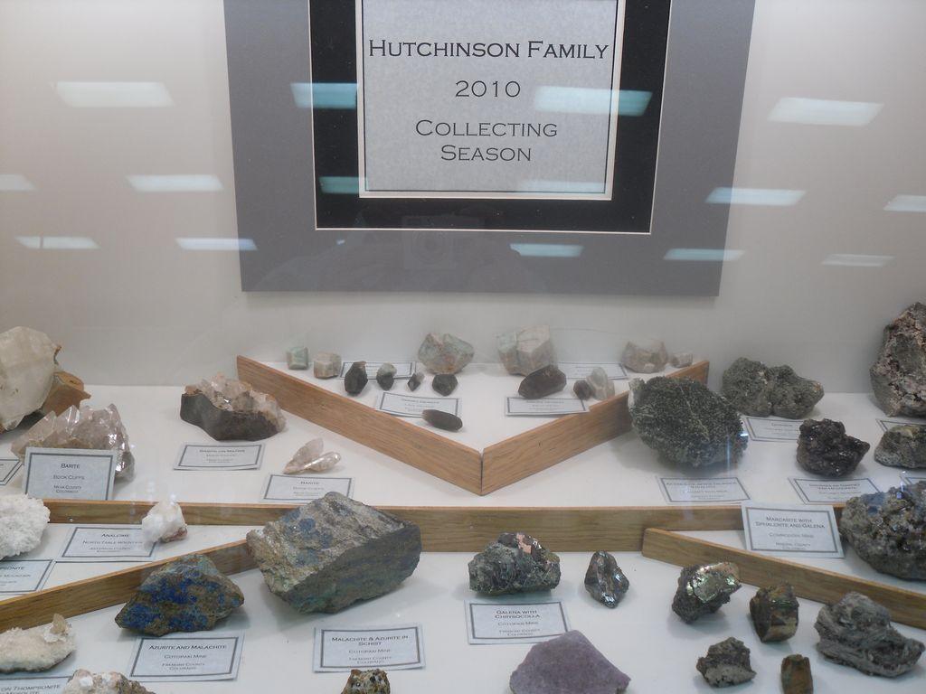 Une saison de collecte de minéraux par une famille du club minéralogique de Denver (USA).