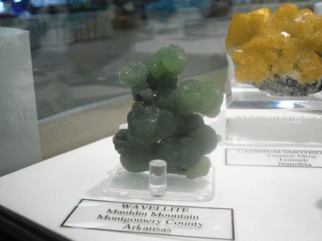 Wavellite de l'Arkansas (USA).