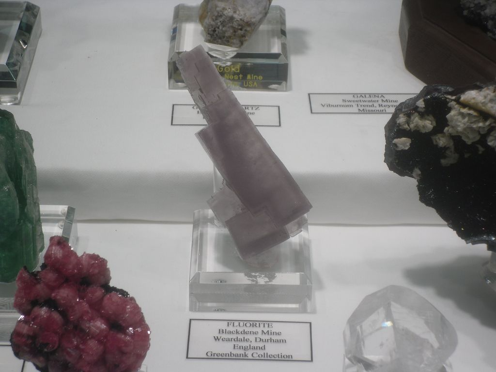 Fluorite from the Blackdene Mine, England.