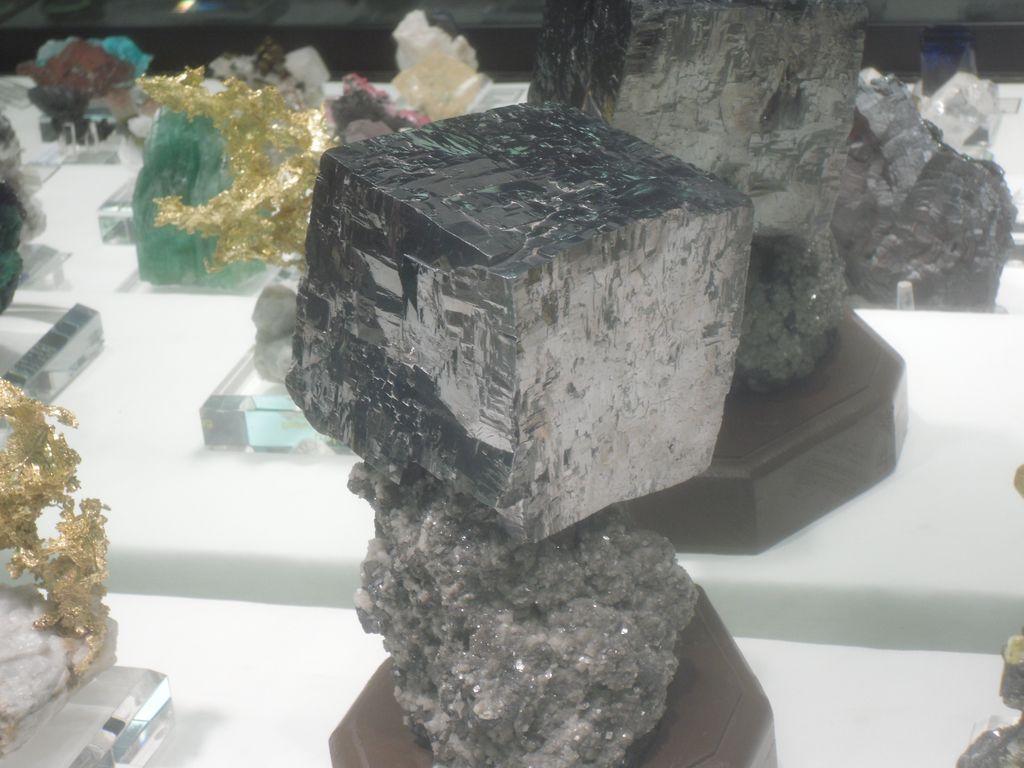 Enorme cube de galène, USA.