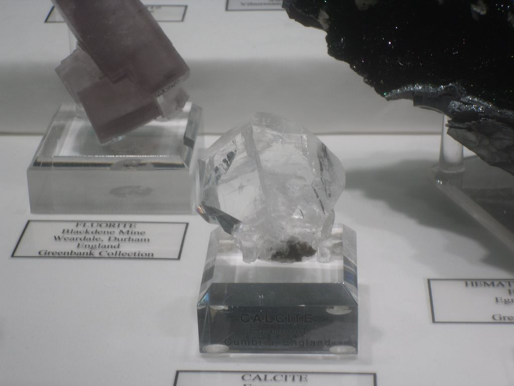 Calcite maclée, Egremont, West Cumberland Iron Field, Cumbria, England.