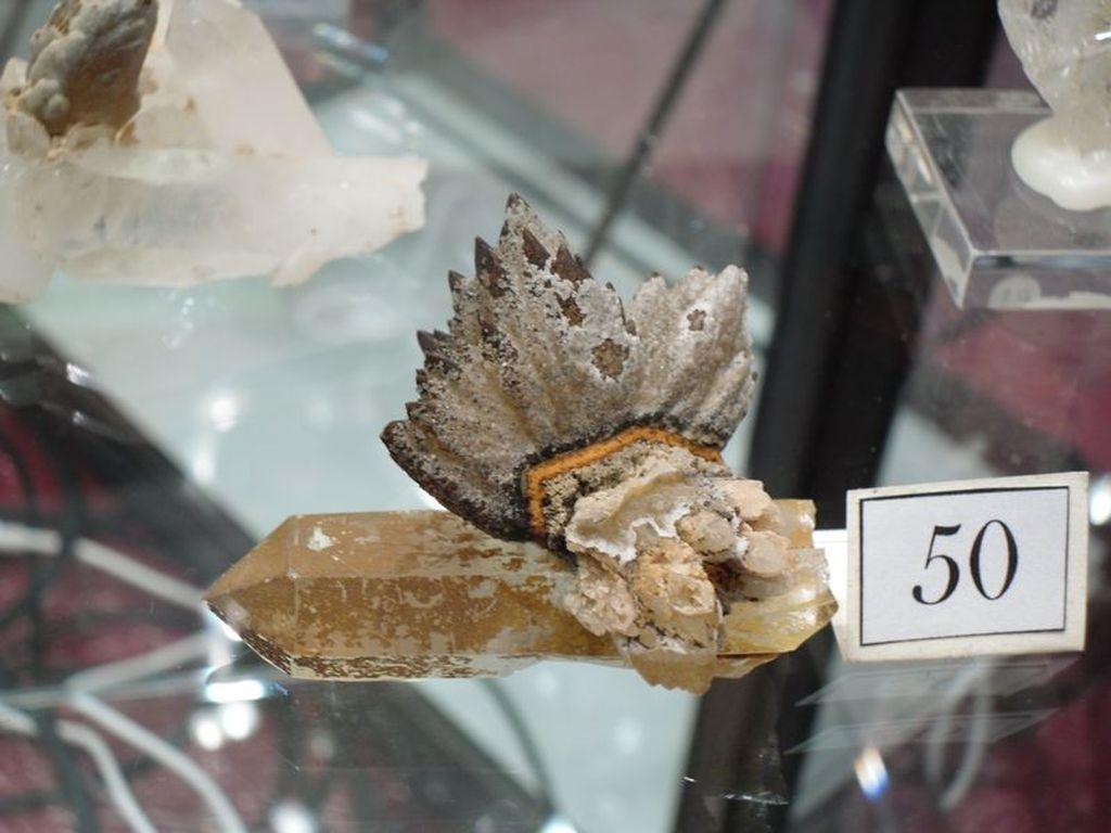 Minéraux de La Gardette en Oisans (Isère).